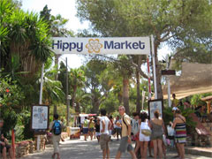 The Hippy Market in Es Cana