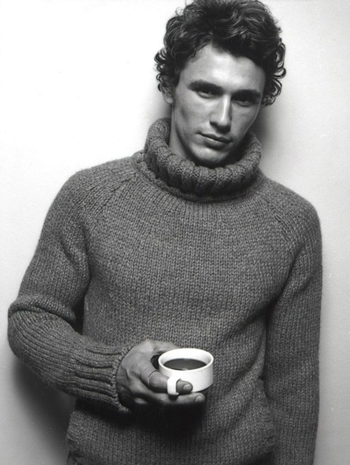 James Franco sweater