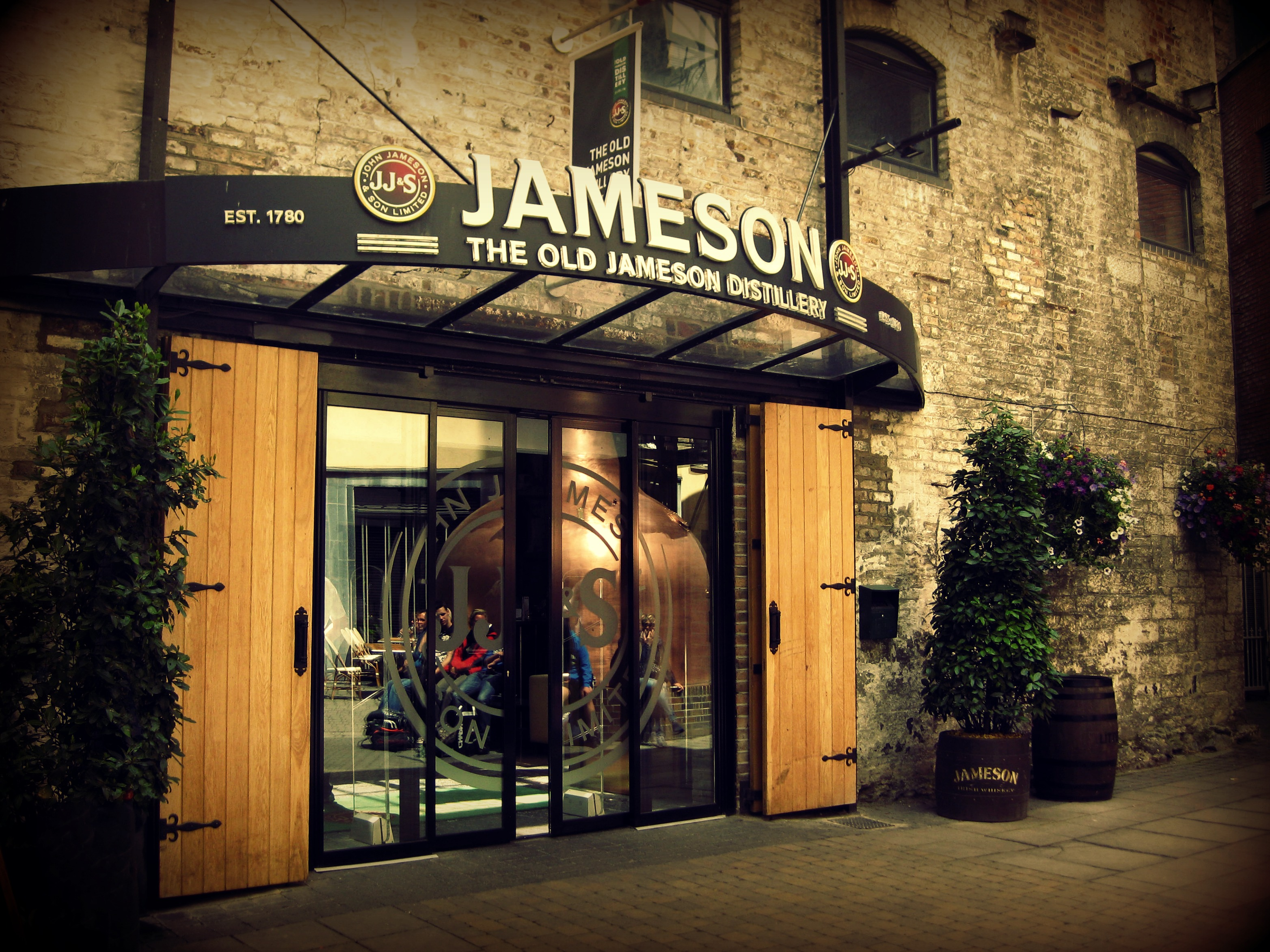 Old-Jameson-Distillery-Doors