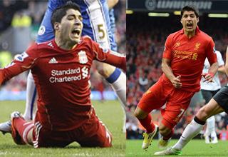 Luis Suarez diving