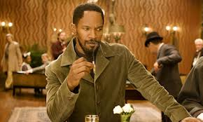 Effortlessly cool: Jamie Foxx is great as the the slave-cum-bounty hunter, Django