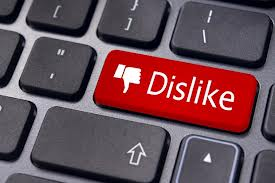 We all need a dislike button once in a while