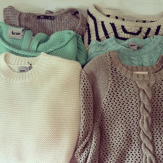 The power of the cable knit, perfect for all occasions.