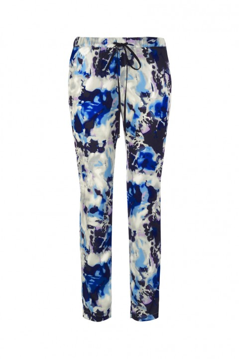 Blue, black and white Primark trousers
