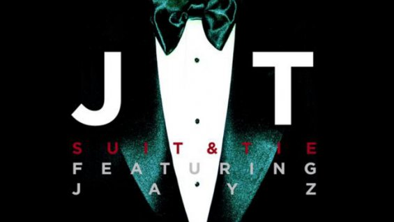 """Cover for new single """"Suit and Tie"""""""