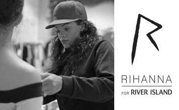 Rihanna for River Island... London Fashion Week 2013