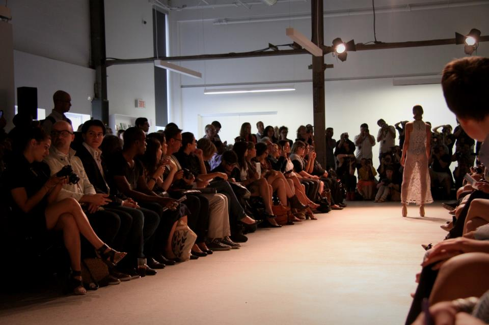 By Thomas show, at Montreal Fashion Week S/S 2012.