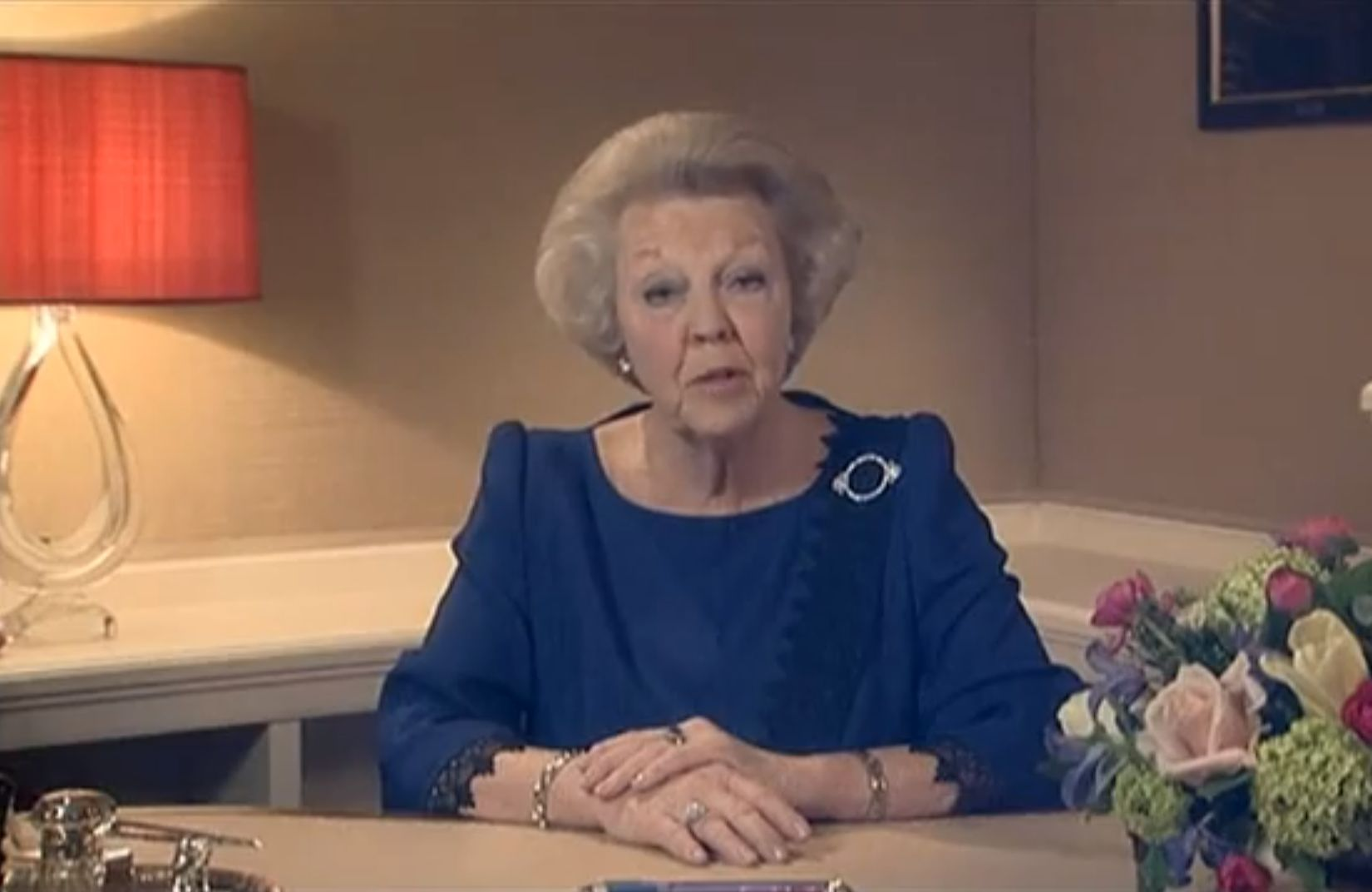 Queen Beatrix announced her abdication of the Dutch throne on Jan. 28.