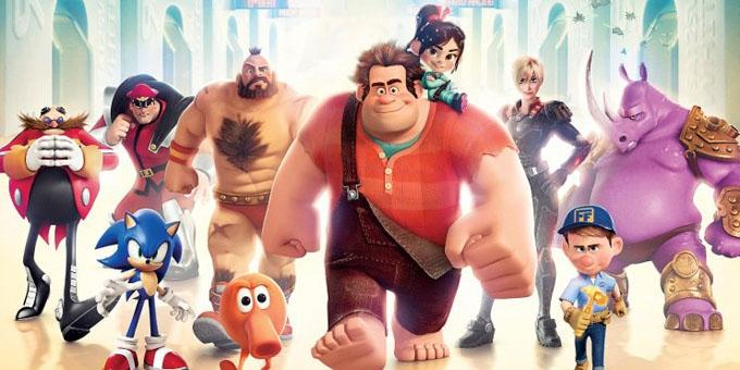 Wreck-It Ralph's nifty shades of grey