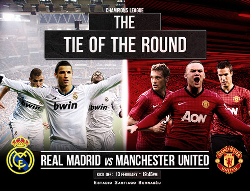 Real Madrid vs Manchester Untied