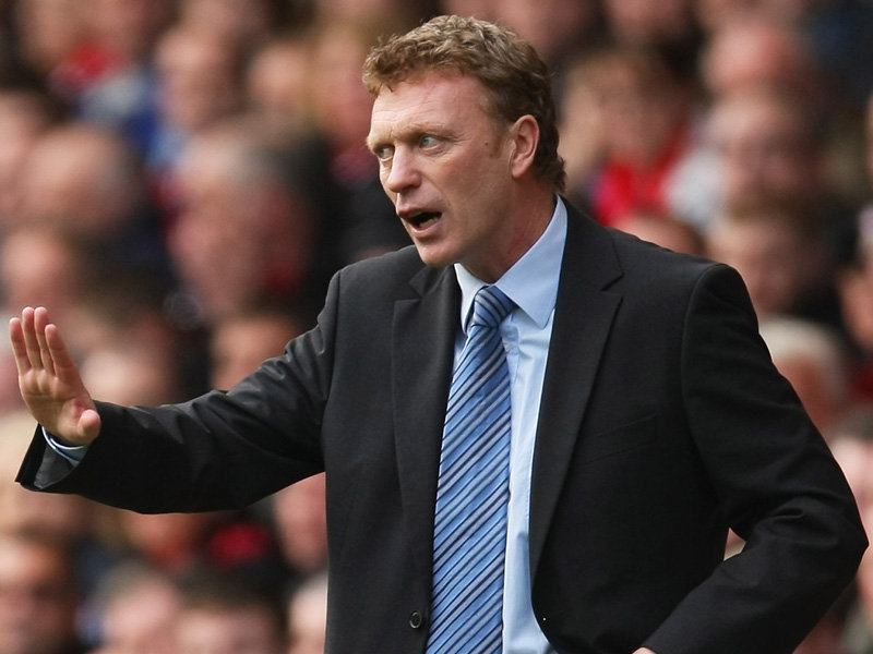 david moyes manchester united job