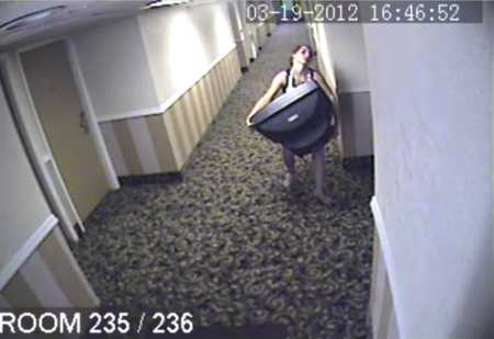 hotel guest stealing