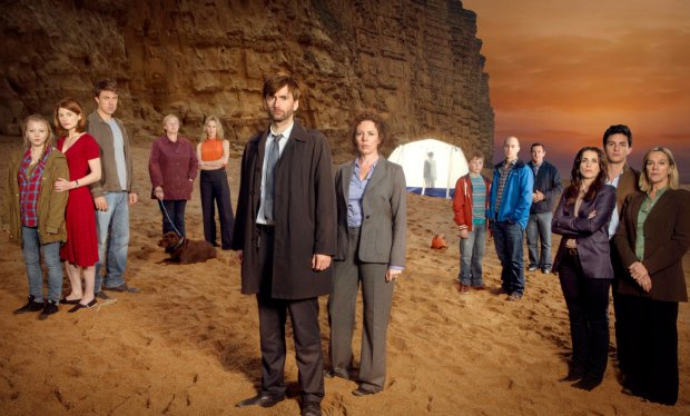 Cast of ITV drama Broadchurch