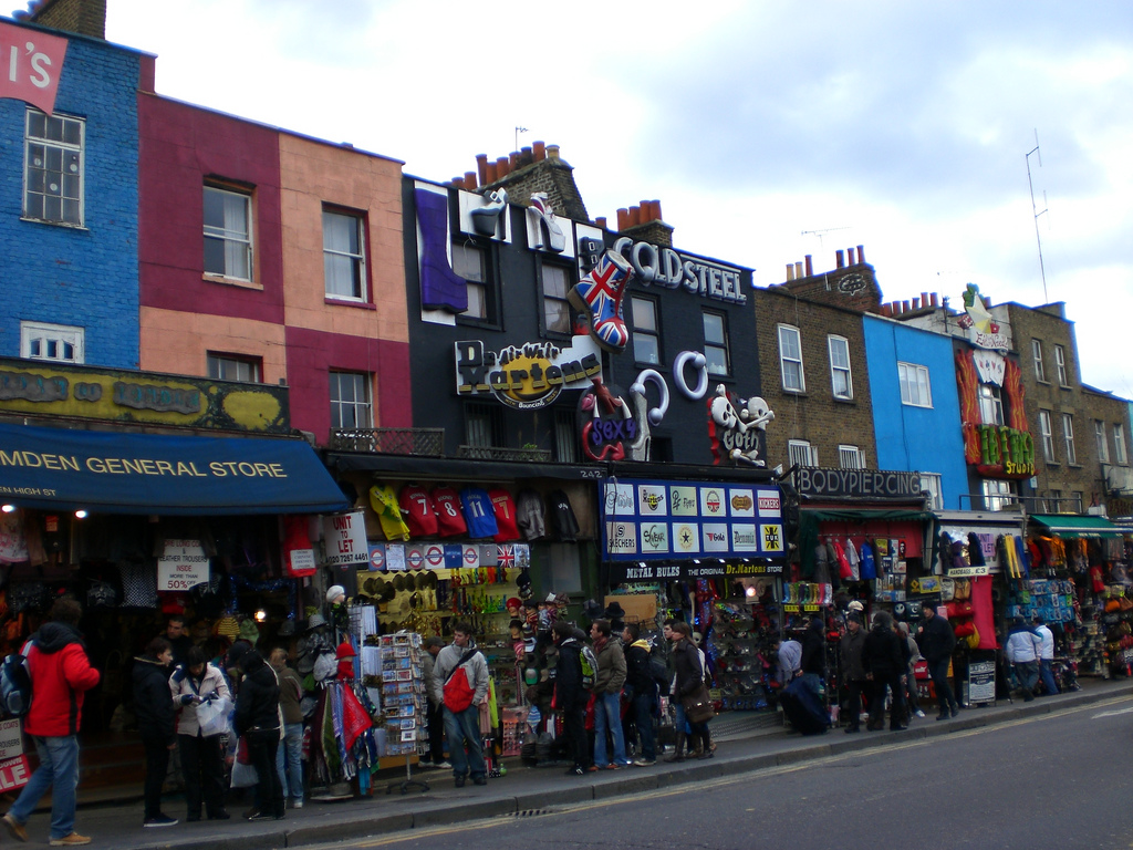 Camden Town: Where Creativity Comes Alive