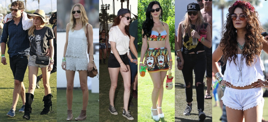 Some of the celebrities that went to Coachella 2013 and their styles