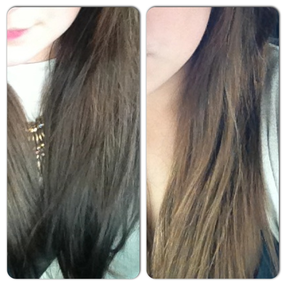 before and after Colour B4