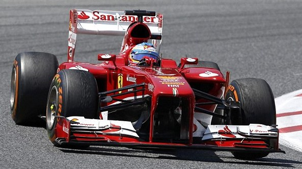 Fernando Alonso was unstoppable on home turf.