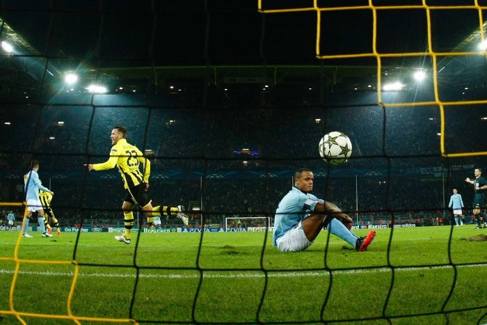 Borussia Dortmund knocking out Manchester City of the Champions League earlier this season.