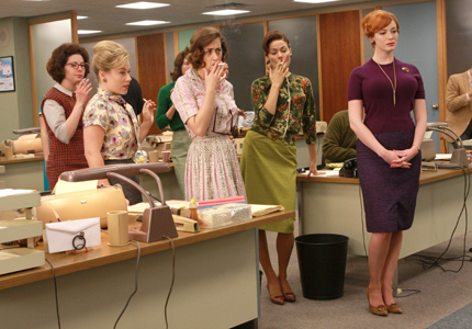 pencil skirts, mad men, joan holloway, officewear, dresses, 1960s