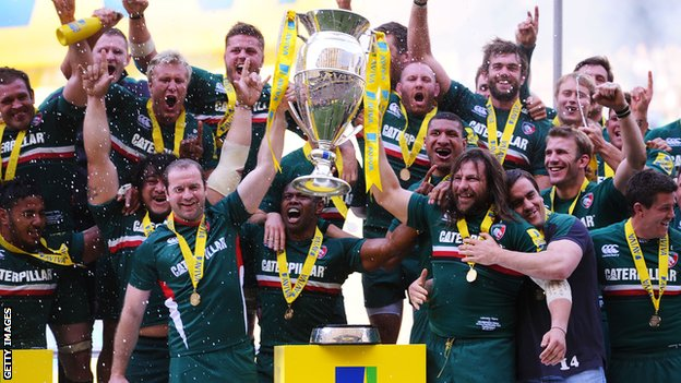 Leicester lift the Aviva Premiership for a record 10th time