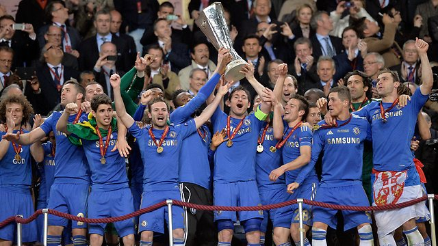 chelsea win europa league