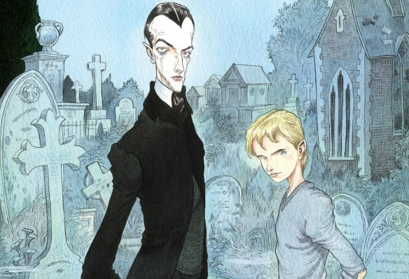 Silas and Odd, straight from the pen of Chris Riddell