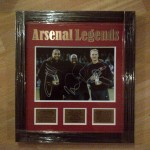 Arsenal legends - Thierry Henry, Ian Wright & Dennis Bergkamp