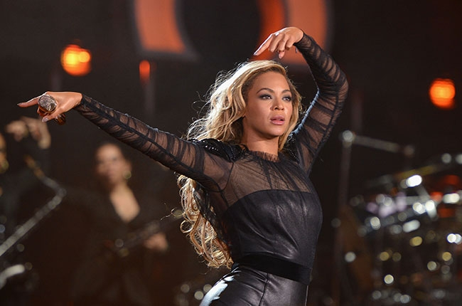 Beyonce at Chime for Change