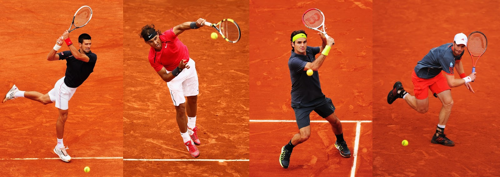 The dominant forces of mens tennis