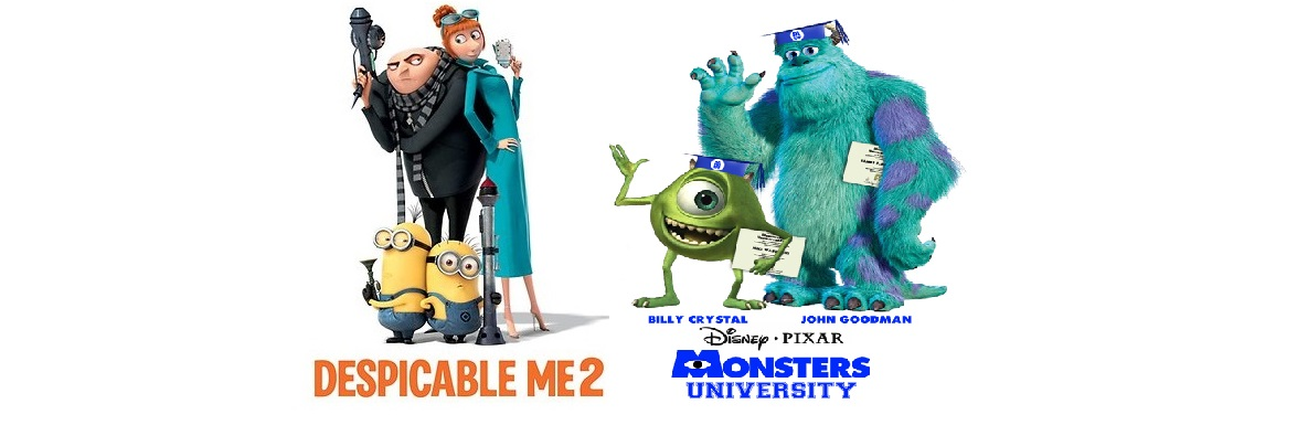 Despicable Me 2 and Monsters University, coming soon
