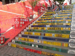 The Lapa Steps