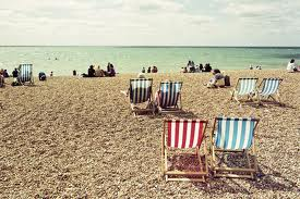 British Summer- a day at the beach