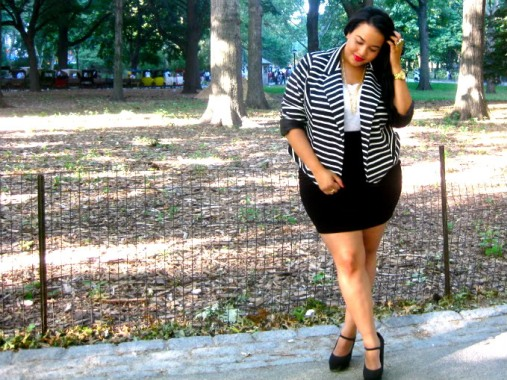 plus size fashion blogging