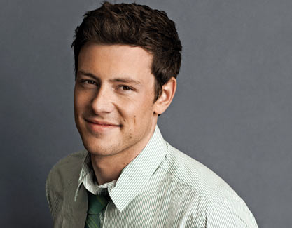 The late Cory Monteith