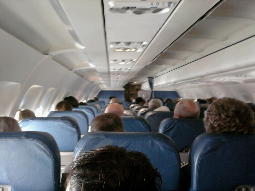 people on a plane