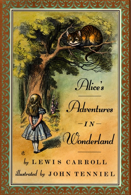 Alice's Adventures in Wonderland by Lewis Carroll book cover