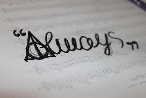 harry potter 'always'