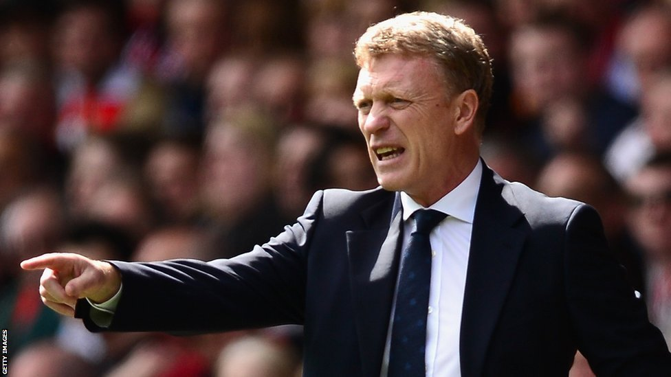 The win will ease the pressure on manager Moyes