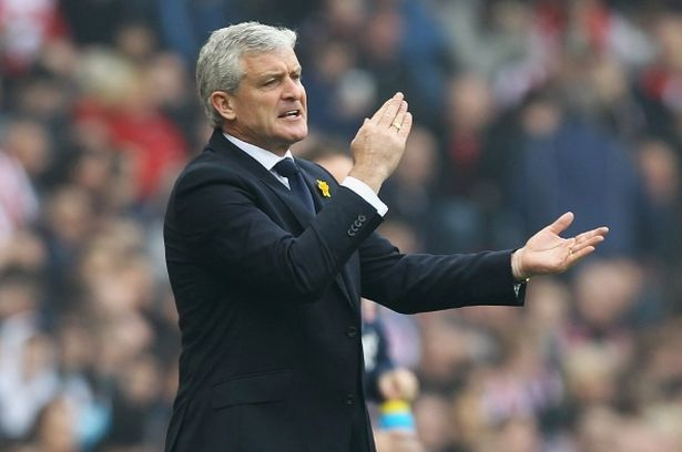 Mark Hughes side played out a draw with rivals West Brom