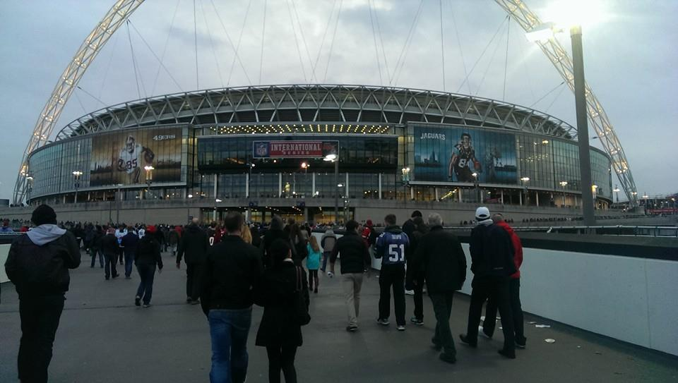Wembley Stadium - 49ers vs Jaguars