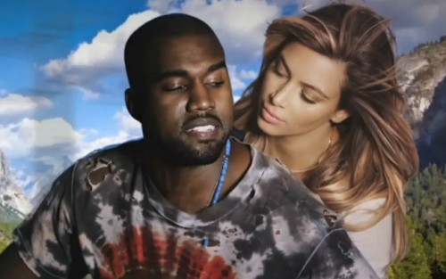 Kanye West and Kim Kardashian Bound 2