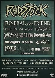 The lineup so far for this year's Radstock festival.