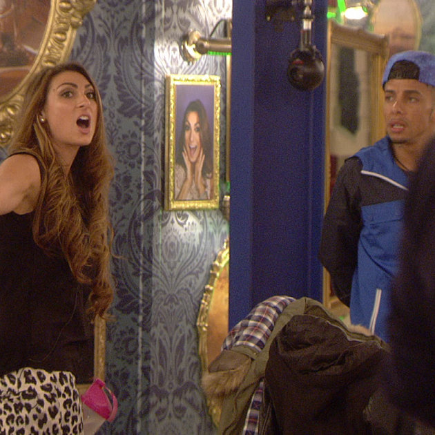 Luisa and Dappy had an argument in the CBB house regarding sexual partners