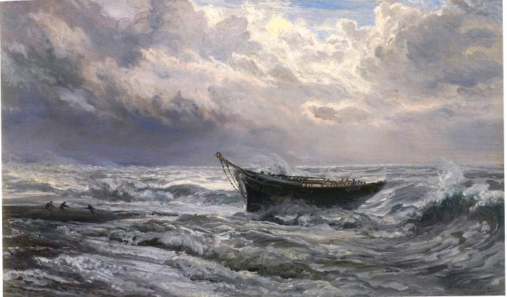 sea sickness image