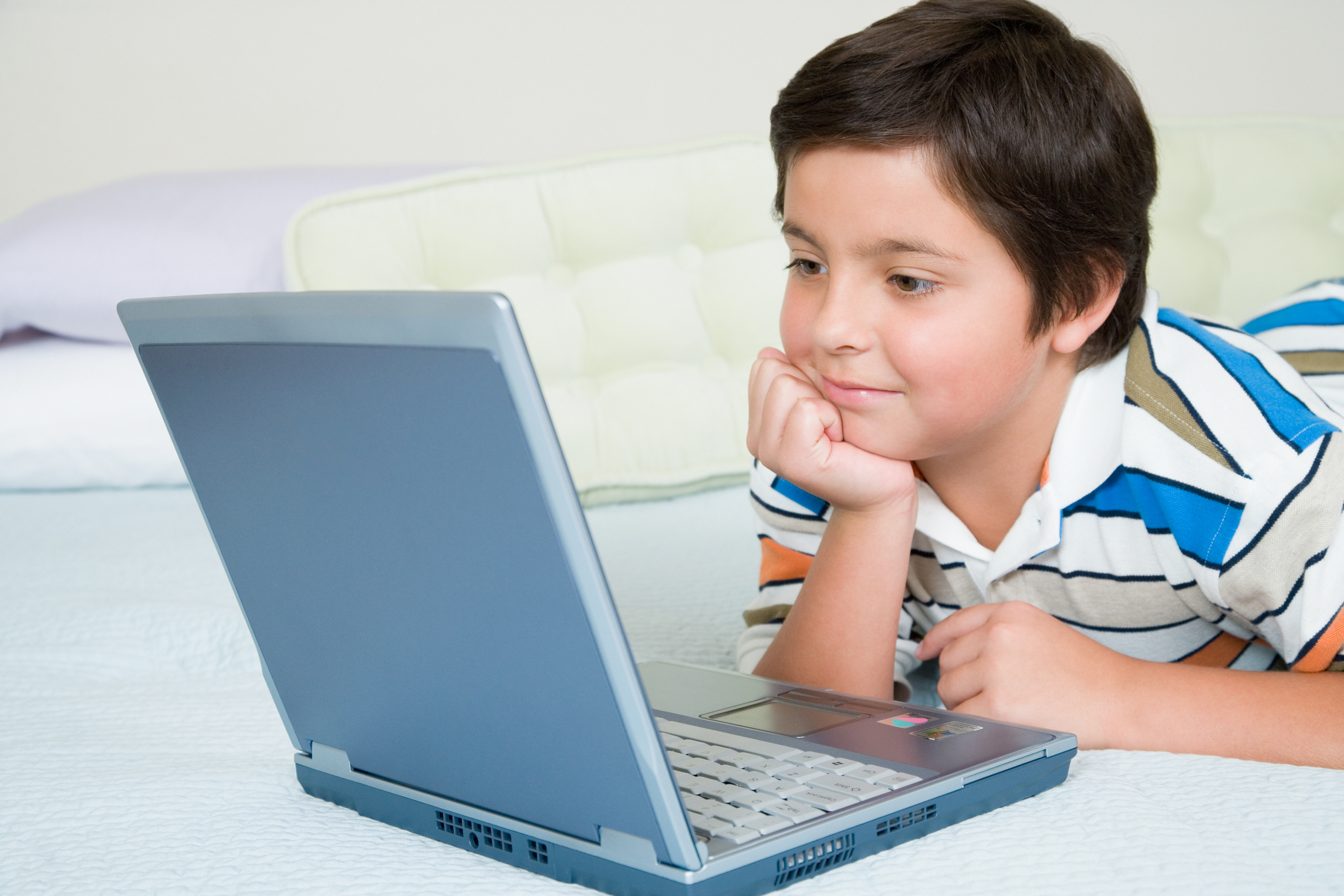 Children are increasingly devoted to their devices.