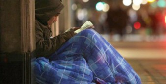 Homelessness in London has had a sharp rise