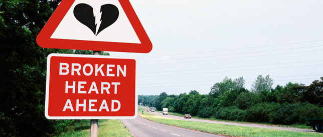 Broken Heart Sign