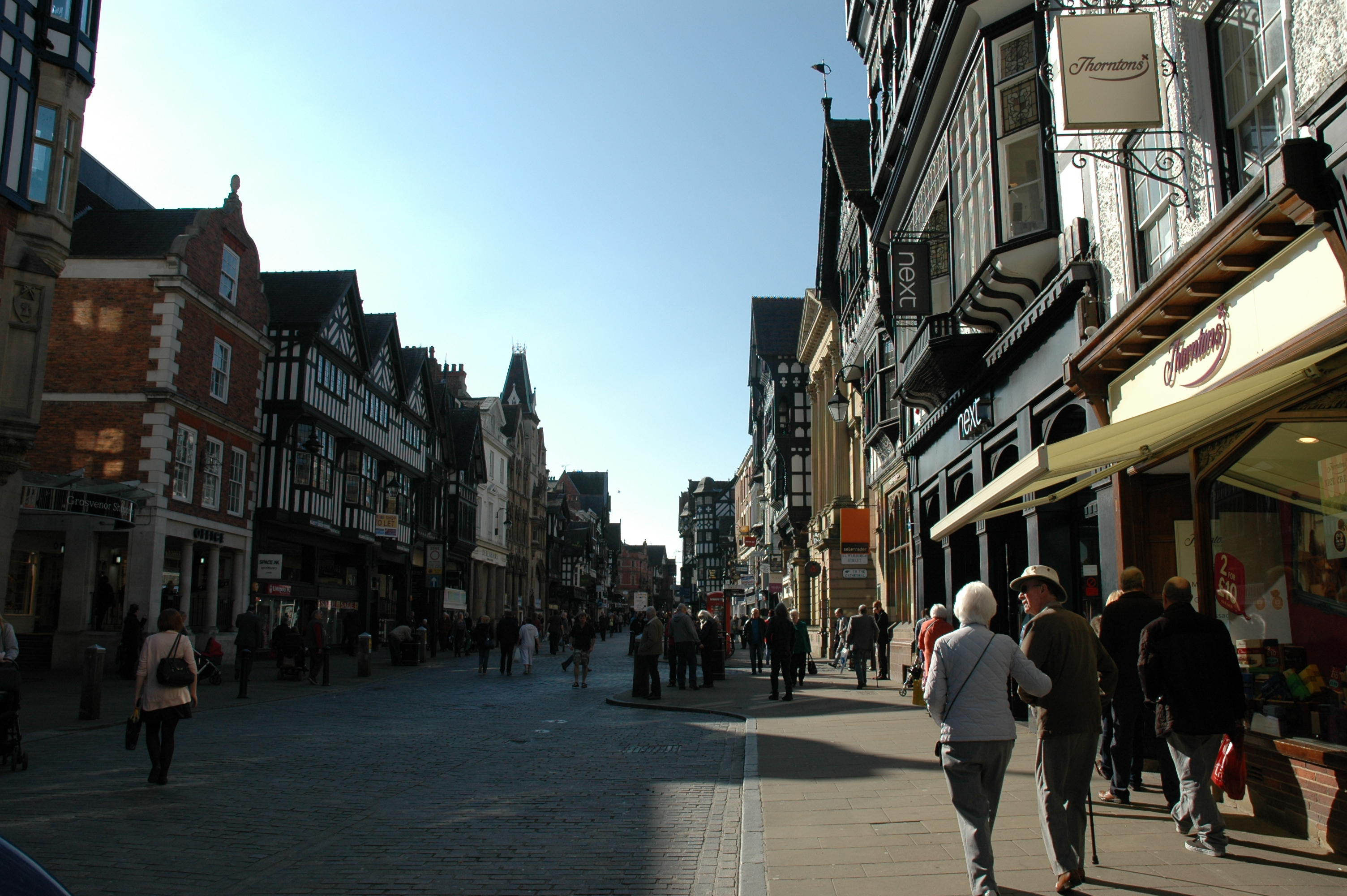 Chester city centre