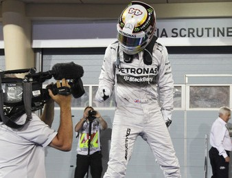 Delight for Hamilton as he makes it two in a row