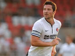 Cult figure: Yann Kermorgant was sold in January, much to the dismay of Charlton fans